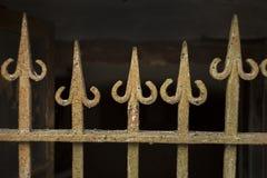 Старый тип гриль стрелки metall Стоковое Фото
