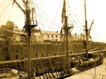 старый тип корабля стоковая фотография rf
