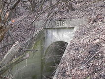 Старый тоннель Стоковое Фото