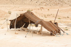 Старый торгуя шатер Стоковое Изображение