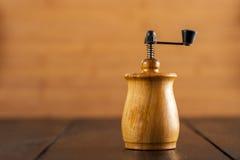 Старый точильщик перца Стоковое Фото