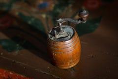 Старый точильщик перца Стоковое фото RF