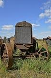 Старый трактор двойного города широкий передний стоковое фото rf