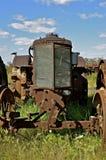 Старый трактор Уоллиса Стоковые Фотографии RF