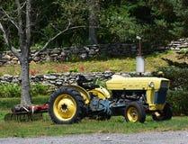 Старый трактор Стоковая Фотография