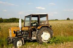Старый трактор Ursus Стоковые Изображения