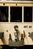 старый трам Стоковая Фотография