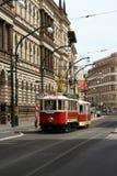 Старый трам Стоковая Фотография RF
