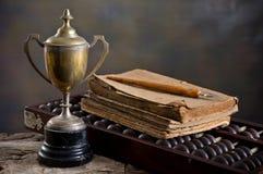 Старый трофей стоковое фото