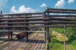 старый трубопровод стоковая фотография rf