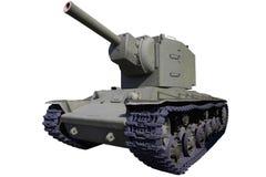 Старый тяжелый танк штурма Стоковая Фотография RF
