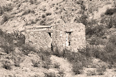 Старый утес Building-1 Стоковая Фотография RF