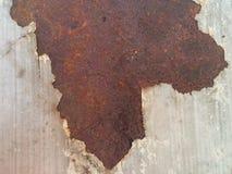 Старый утюг с ржавчиной стоковые изображения