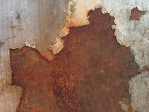 Старый утюг с ржавчиной стоковое изображение rf