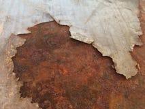 Старый утюг с ржавчиной стоковое фото rf