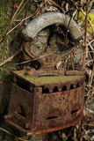 Старый утюг Стоковое Изображение