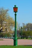 Старый уличный фонарь. Стоковая Фотография