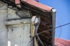 Старый уличный фонарь Стоковое Изображение RF