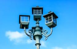 Старый уличный фонарь Стоковые Изображения