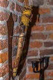 Старый факел солдата Стоковые Фото