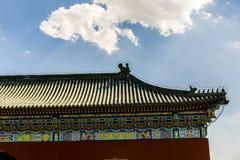 Старый фарфор Œbeijing ¼ architurectureï Стоковое Изображение RF