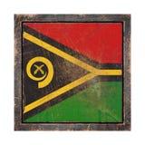 Старый флаг Вануату иллюстрация штока