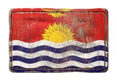 Старый флаг Кирибати иллюстрация штока