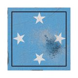 Старый флаг Микронезии бесплатная иллюстрация