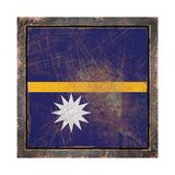Старый флаг Науру бесплатная иллюстрация