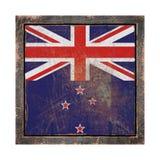 Старый флаг Новой Зеландии иллюстрация вектора