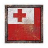 Старый флаг Тонги бесплатная иллюстрация
