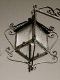Старый фонарик внешней стены дизайна Стоковая Фотография