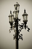 Старый фонарик города Стоковые Изображения RF