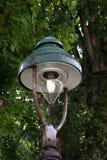 Старый фонарик парка Стоковые Фото