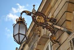 Старый фонарик улицы Стоковые Фотографии RF
