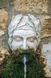 Старый фонтан в Mougins стоковое фото