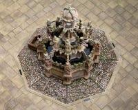 Старый фонтан, Шотландия Стоковое фото RF