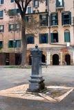 Старый фонтан Стоковое Изображение RF