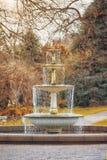 Старый фонтан Стоковые Изображения RF