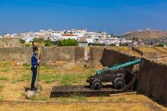 Старый форт - Elvas Португалия Стоковая Фотография RF