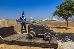 Старый форт - Elvas Португалия Стоковые Фото