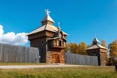 Старый форт Ilim Стоковые Изображения RF