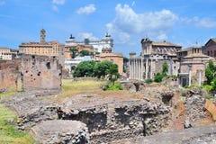 Старый форум в Италии Стоковые Фото