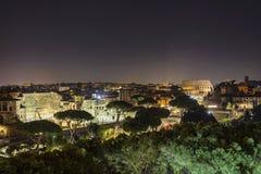 Старый форум Augustus в Риме стоковое фото