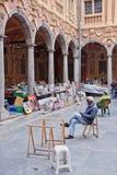 Старый французский рынок Стоковое Изображение