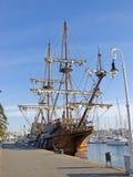 Старый фрегат Стоковые Изображения