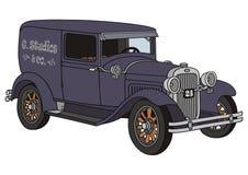 Старый фургон поставки Стоковая Фотография RF