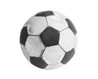 Старый футбол Стоковая Фотография