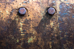 Старый фланец Стоковое фото RF