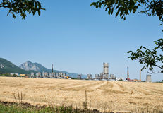 Старый химический завод Стоковая Фотография